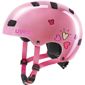 UVEX Kid 3 Helmet Kids pink heart